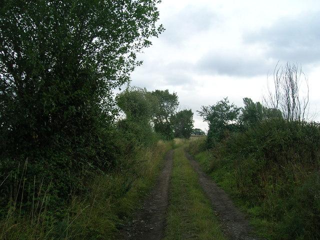 Rakes Lane heading east