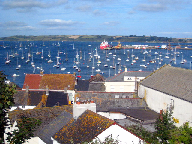 Falmouth rooftops