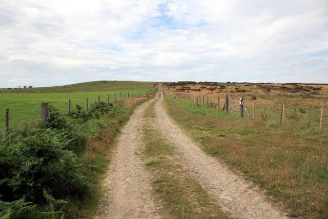 Footpath to Stoney Pound