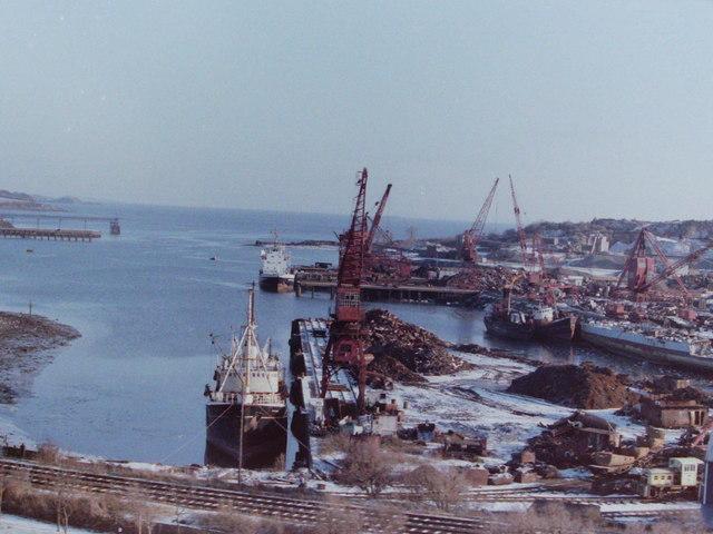 Ship Scrapyard, Inverkeithing, 1985