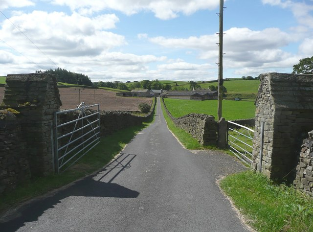 The driveway to Armitstead, Lawkland