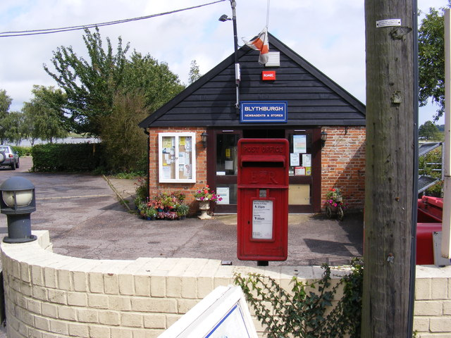 Blythburgh Post Office & Chapel Road Post Office Postbox