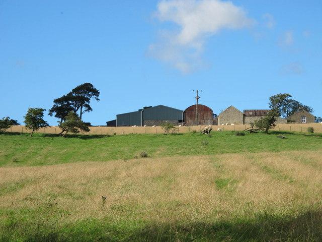 Farmland south of Blackhill Farm