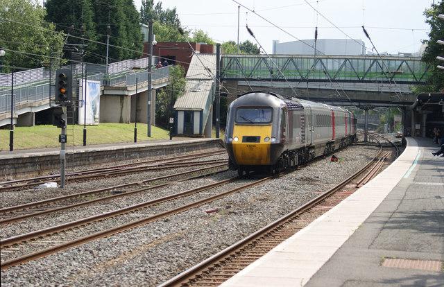 High Speed Train at  Longbridge