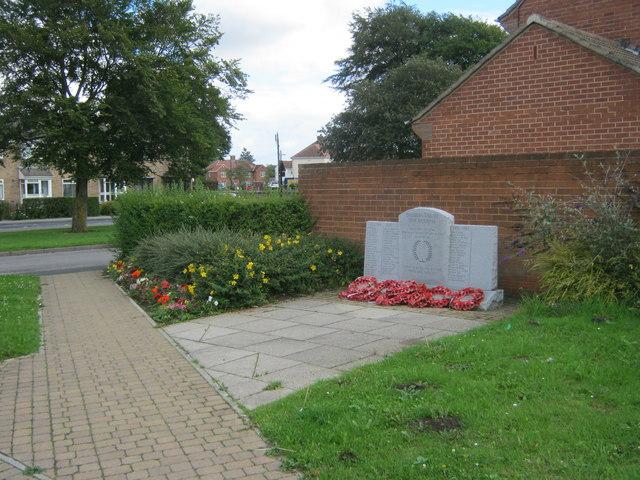 War Memorial, Sherburn Village