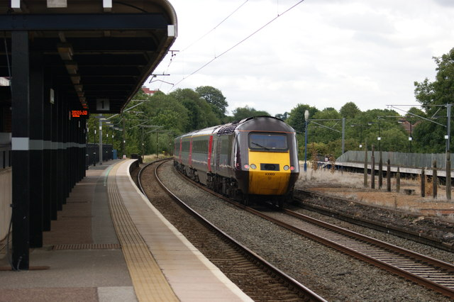 High Speed Train at Northfield