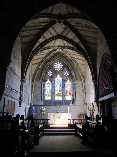 The chancel of All Saints', Burton in Lonsdale