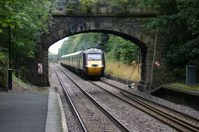 High Speed Train at Barnt Green