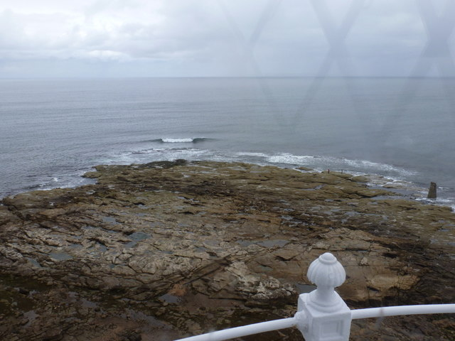 Whitley Bay: looking seaward from St. Mary's lighthouse