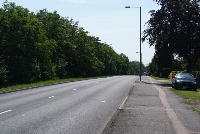London Road near Stoneleigh