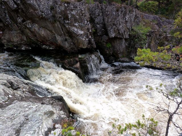 Waterfall on the River Farrar