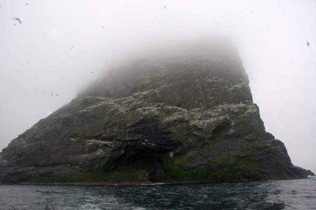 Stac an Armin, Boreray, St Kilda, from the south-east