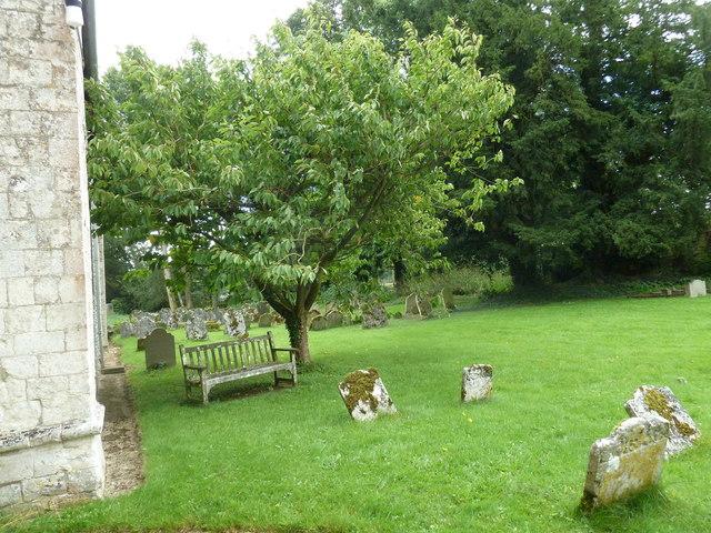 St Mary's Church, Herriard- churchyard (b)