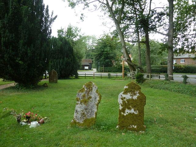 St Mary's Church, Herriard- churchyard (c)