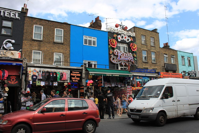 Tattoo shops in Camden High Street