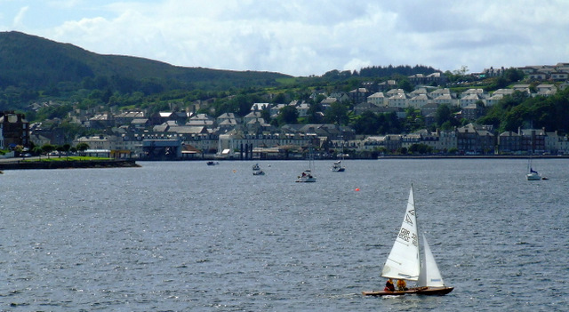 Rothesay from Rothesay Bay