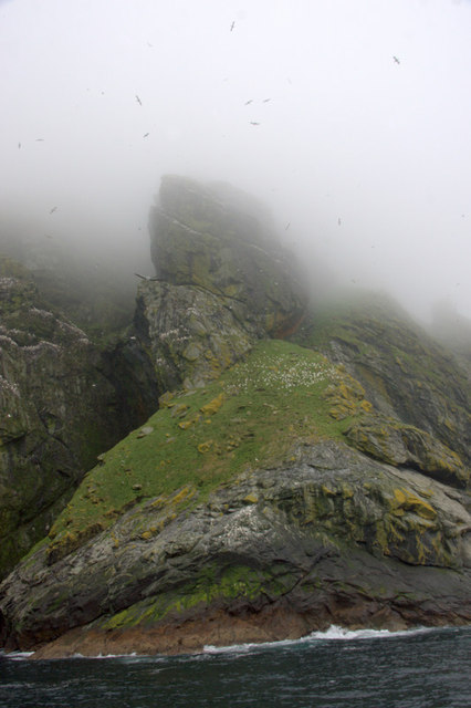 Geo Shunadal, Boreray, St Kilda