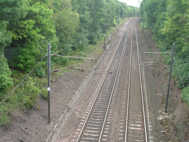 Railway towards Retford