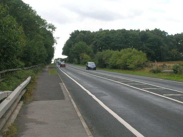 A638 towards Bawtry