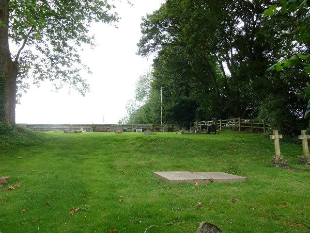 St Martin, Ellisfield: churchyard (b)