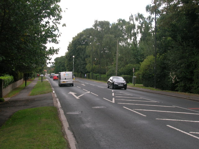 Doncaster Road (A683) heading south