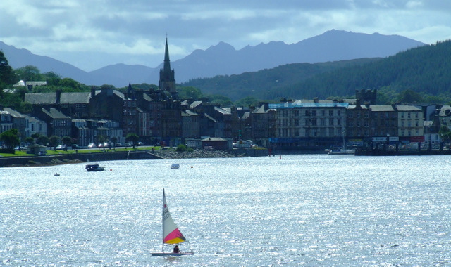 Rothesay and Arran from Rothesay Bay