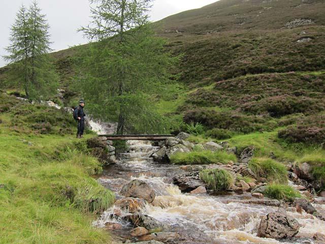 Bridge over Allt Clais
