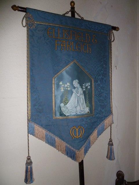 St Martin, Ellisfield: banner