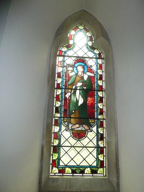 St Martin, Ellisfield: stained glass window (4)