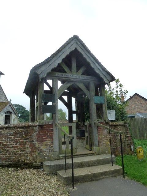 Dummer - All Saints Church: lych gate