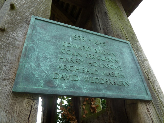 Dummer - All Saints Church: 1939- 1945 memorial