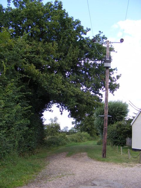 Mill Lane Byway to Church Lane