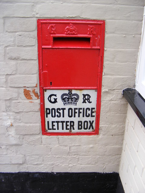 Post Office Mill Lane George V Postbox