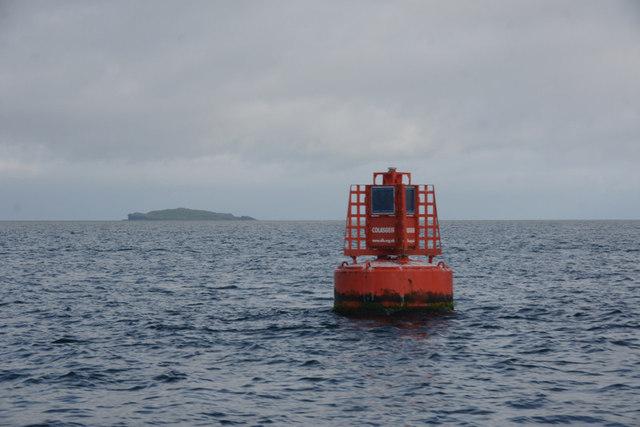 Colasgeir buoy, Sound of Harris