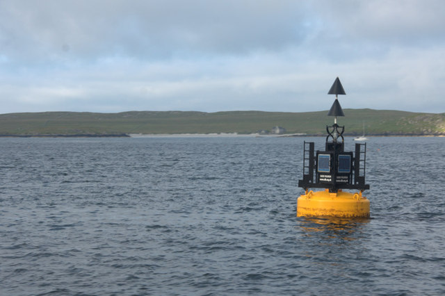 Buoy at Sgeir Volinish, Sound of Harris