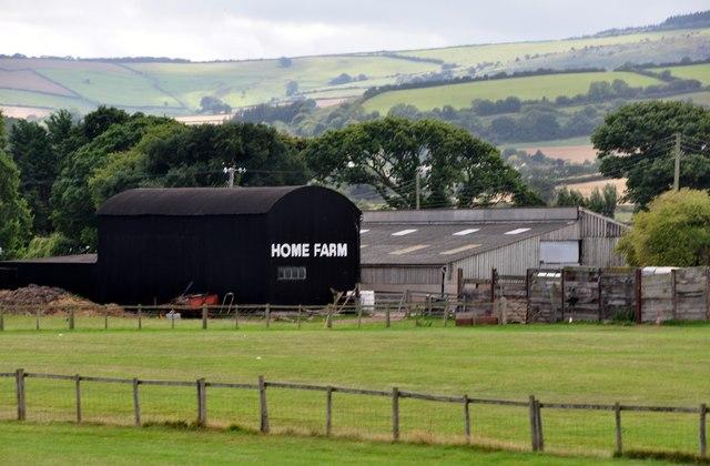 Blue Anchor : Home Farm