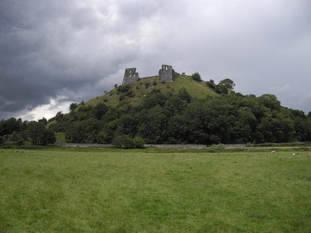 Ruins of Dryslwyn Castle