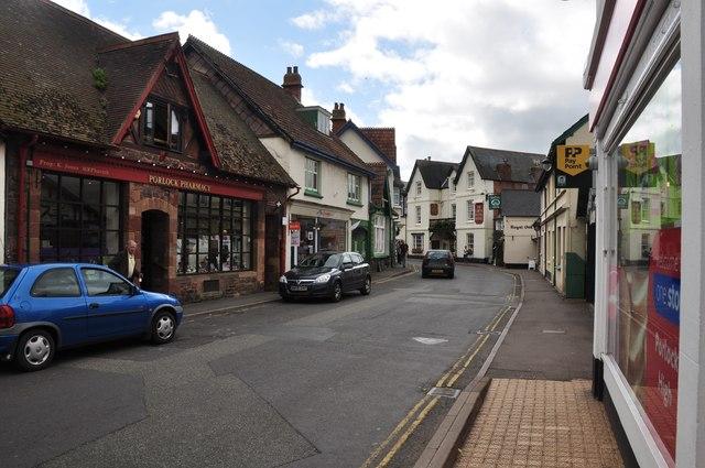 Porlock : High Street