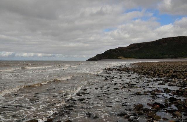 West Somerset : Porlock Beach & Coastline