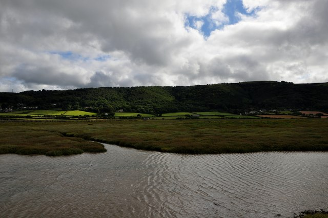 West Somerset : Salt Marshes & Water