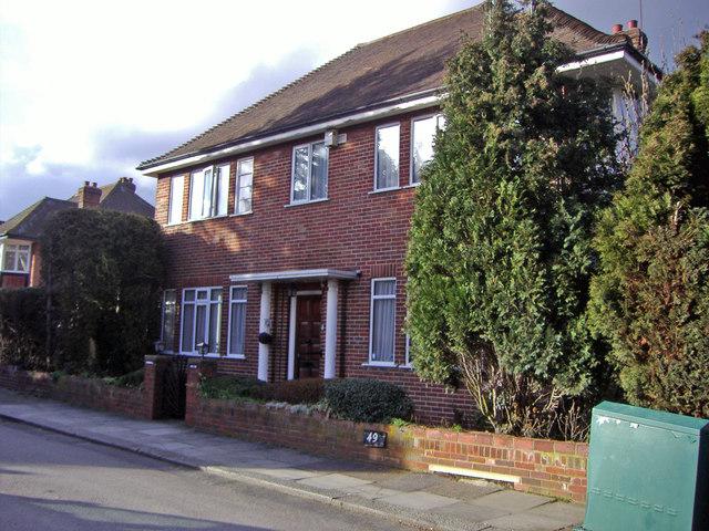 House on Ashley Close, Hendon