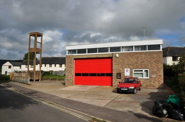 Porlock : Porlock Fire Station