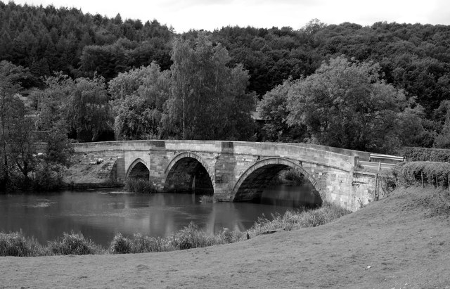 The Bridge at Kirkham Abbey