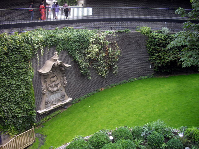 Sunken Garden, Museum of London, Barbican
