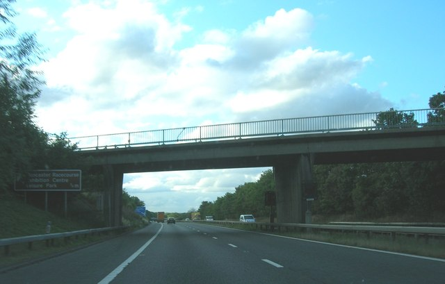 Bridge over the A1 (M)