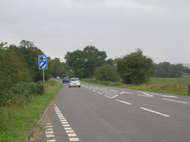 Stripe Road (B6463) towards Harworth