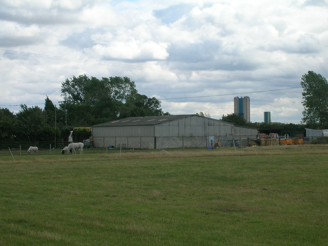 Farm building off the A631