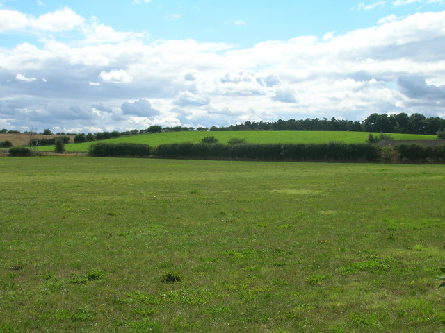 Farmland west of Scrooby