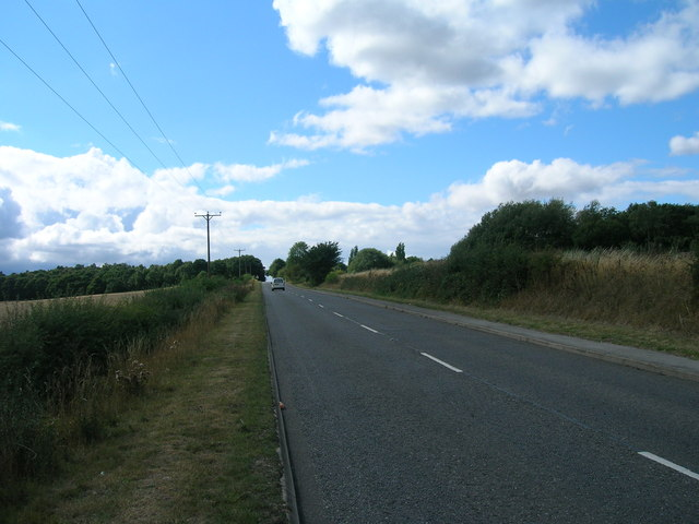 Scrooby Road towards Harworth