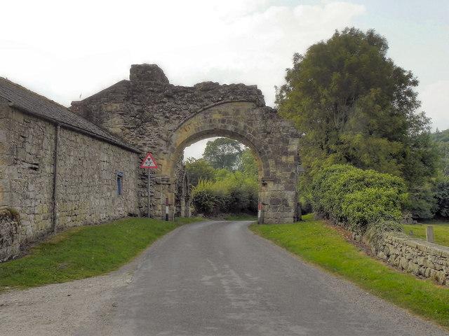 Gatehouse, Byland Abbey